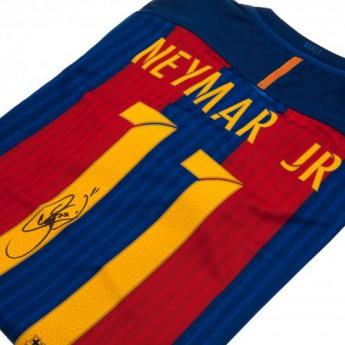 Legendy pánske tričko FC Barcelona Neymar Signed Shirt