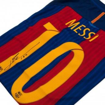 Legendy pánske tričko FC Barcelona Messi Signed Shirt