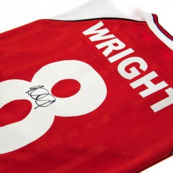 Legendy futbalový dres FC Arsenal Wright Signed Shirt