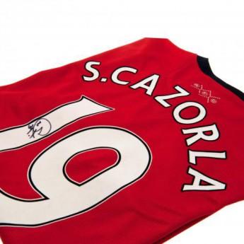 Legendy futbalový dres FC Arsenal Cazorla Signed Shirt