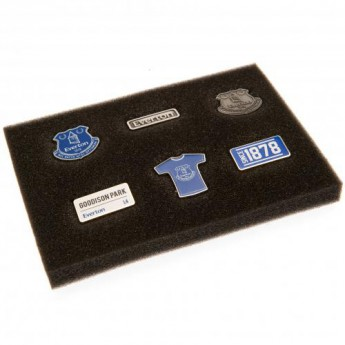 FC Everton set odznáčikov 6 Piece Badge Set