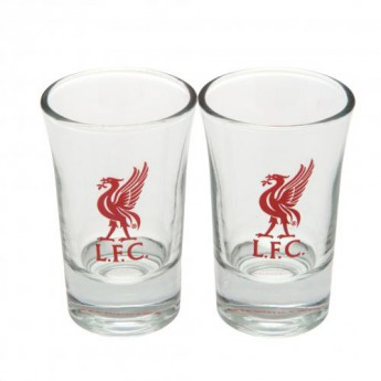FC Liverpool panák štamprlík 2pk Shot Glass Set