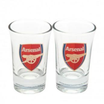 FC Arsenal panák štamprlík 2pk Shot Glass Set