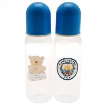 Manchester City detská fľaša 2pk Feeding Bottles
