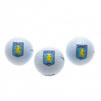 Aston Villa golfové loptičky Golf Balls