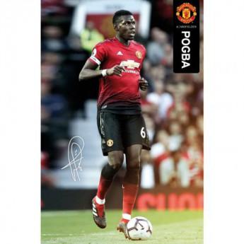 Manchester United plagát Pogba 49