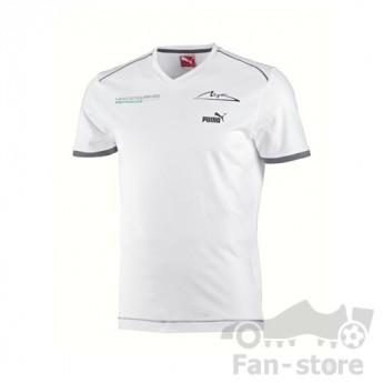 Puma Mercedes AMG Petronas pánske tričko Schumacher weis