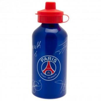 Paris Saint German fľaša na pitie Aluminium Drinks Bottle SG