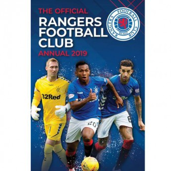 FC Rangers kniha ročenka Annual 2019