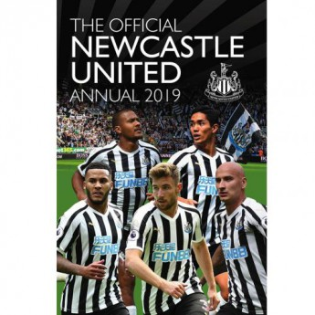Newcastle United kniha ročenka Annual 2019