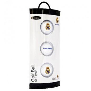 Real Madrid golfové loptičky 3 pcs team logo