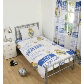 Real Madrid Povlečenie na jednu posteľ blancos