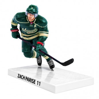 Minnesota Wild figúrka Zach Parise #11 Imports Dragon Player Replica