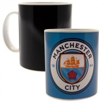 Manchester City hrnček Heat Changing Mug GR