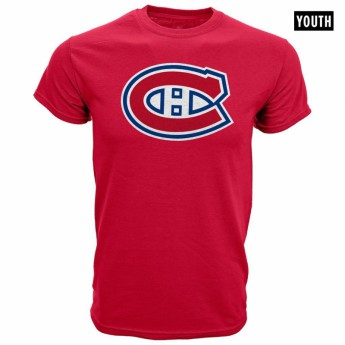 Montreal Canadiens detské tričko red Core Logo Tee