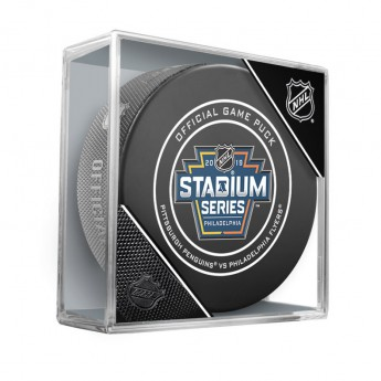 NHL produkty puk 2019 Stadium Series Official Game Puck