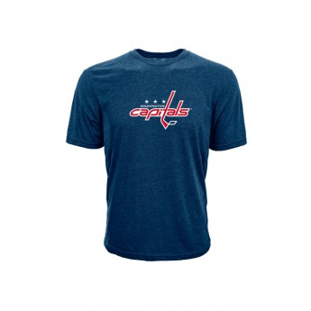 Washington Capitals pánske tričko blue Core Logo Tee