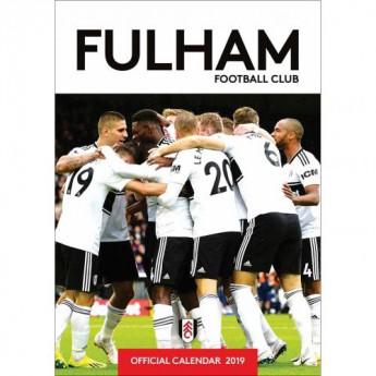 Fulham kalendár 2019 official A3