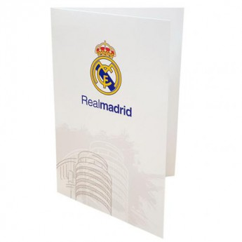 Real Madrid blahoprianie Greetings Card WT