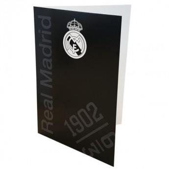 Real Madrid blahoprianie Greetings Card BK