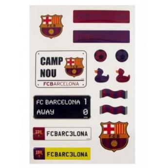 FC Barcelona samolepky set fcb