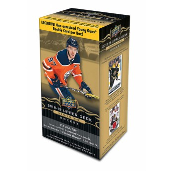 NHL boxy hokejové karty NHL Upper Deck 2018-19 Hockey Series 1 Blaster box