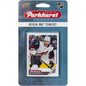 Arizona Coyotes hokejové karty NHL Upper Deck Parkhurst 2018/19 Team Card Set
