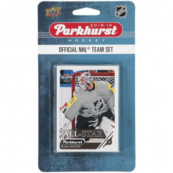 NHL produkty hokejové karty NHL Upper Deck Parkhurst 2018/19 Team Card Set