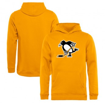Pittsburgh Penguins detská mikina s kapucňou yellow Team Alternate
