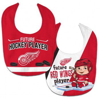 Detroit Red Wings detský podbradník WinCraft Future Hockey Player 2 Pack