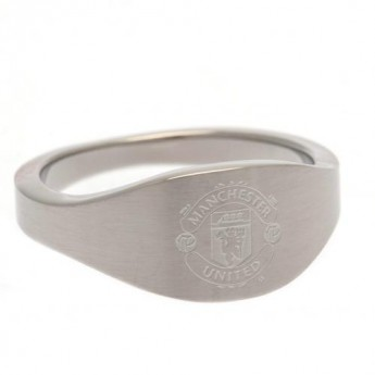 Manchester United prsteň Oval Ring Small