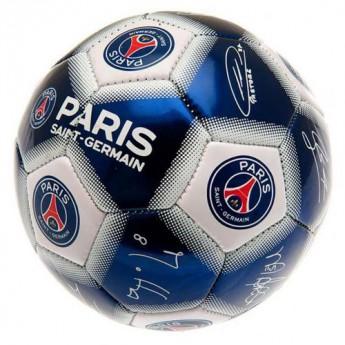 Paris Saint German fotbalová mini lopta Signature size 1