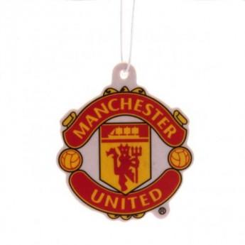 Manchester United osviežovač vzduchu logo redblack