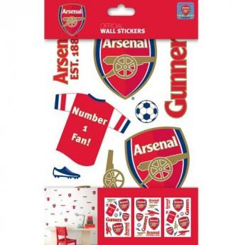 FC Arsenal veľké samolepky 3ks