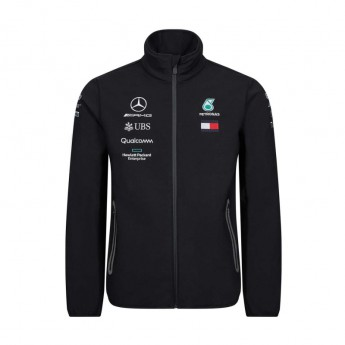 Mercedes AMG Petronas pánska bunda black softshell F1 Team 2019