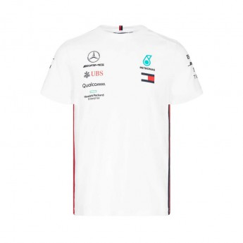Koszulka biała Team Mercedes AMG 19