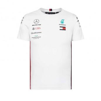 Mercedes AMG Petronas detské tričko white F1 Team 2019