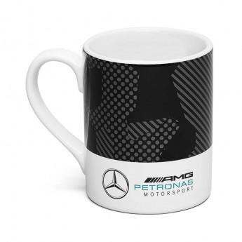 Kubek Camo czarno-biały Mercedes AMG 19