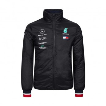 Mercedes AMG Petronas pánska bunda black Padded F1 Team 2019