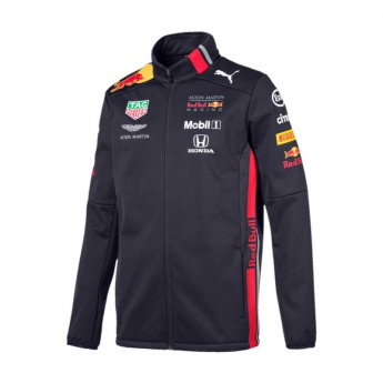 Red Bull Racing pánska bunda softshell navy Team 2019