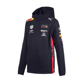 Red Bull Racing detská mikina s kapucňou navy Team 2019