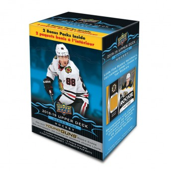 NHL boxy hokejové karty NHL Upper Deck 2018-19 Hockey Series 2 Blaster Box