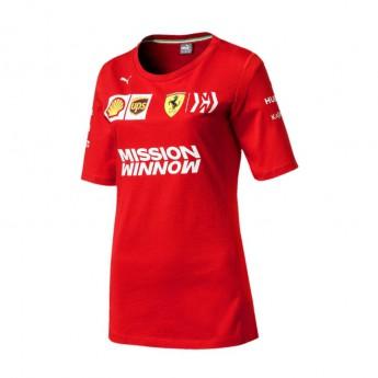 Ferrari dámske tričko red F1 Team 2019