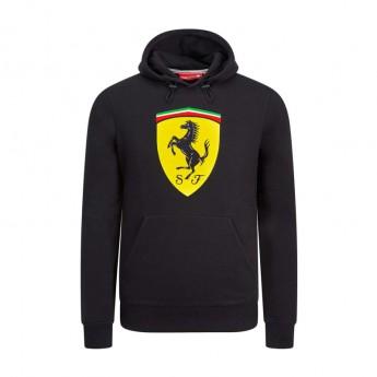 Ferrari pánska mikina s kapucňou black Logo F1 Team 2019