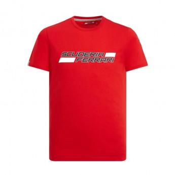 Ferrari pánske tričko Logo red F1 Team 2019