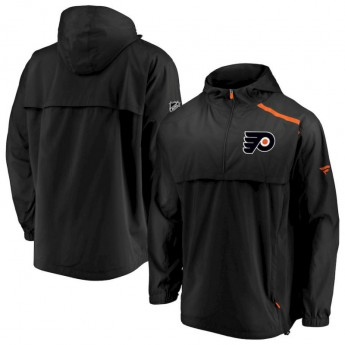 Philadelphia Flyers pánska bunda Authentic Pro Rinkside Anorak 1/4-Zip