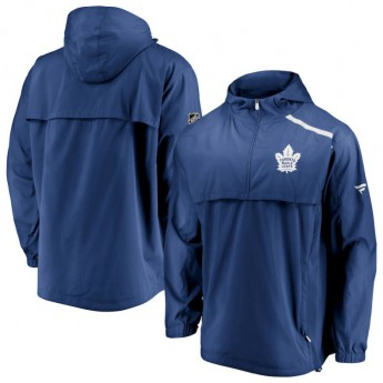 Toronto Maple Leafs pánska bunda Authentic Pro Rinkside Anorak 1/4-Zip