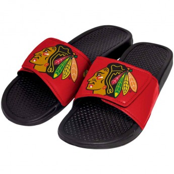 Chicago Blackhawks detské papuče Cropped Big Logo Slide