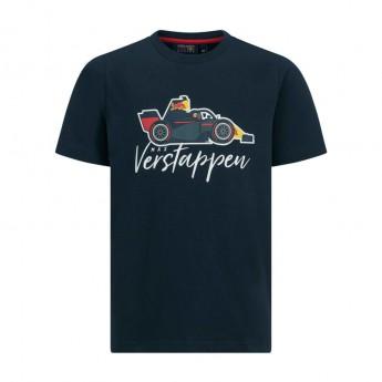 Red Bull Racing detské tričko navy Car F1 Team 2019