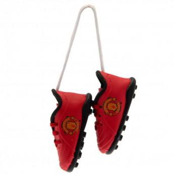 Manchester United mini topánky do auta Mini Football Boots